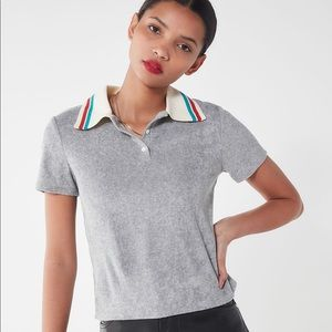 Urban Outfitters project social t terry polo shirt